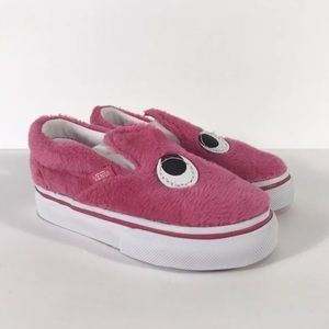 Vans Slip-On Friend Party Fur Magenta Sneakers